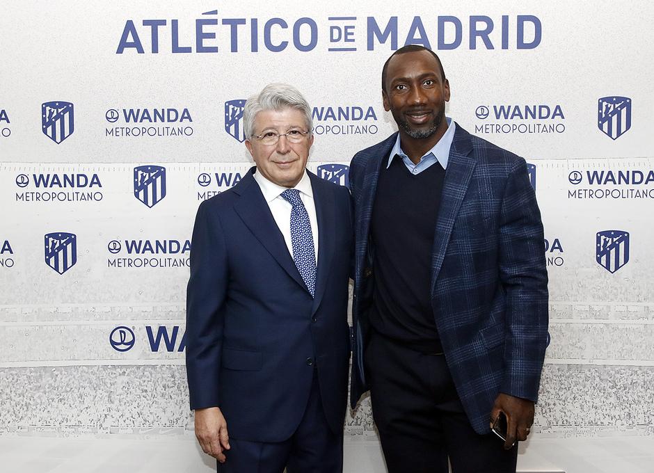 Temporada 2018-2019 | Atlético de Madrid - Alavés | Cerezo y Hasselbaink