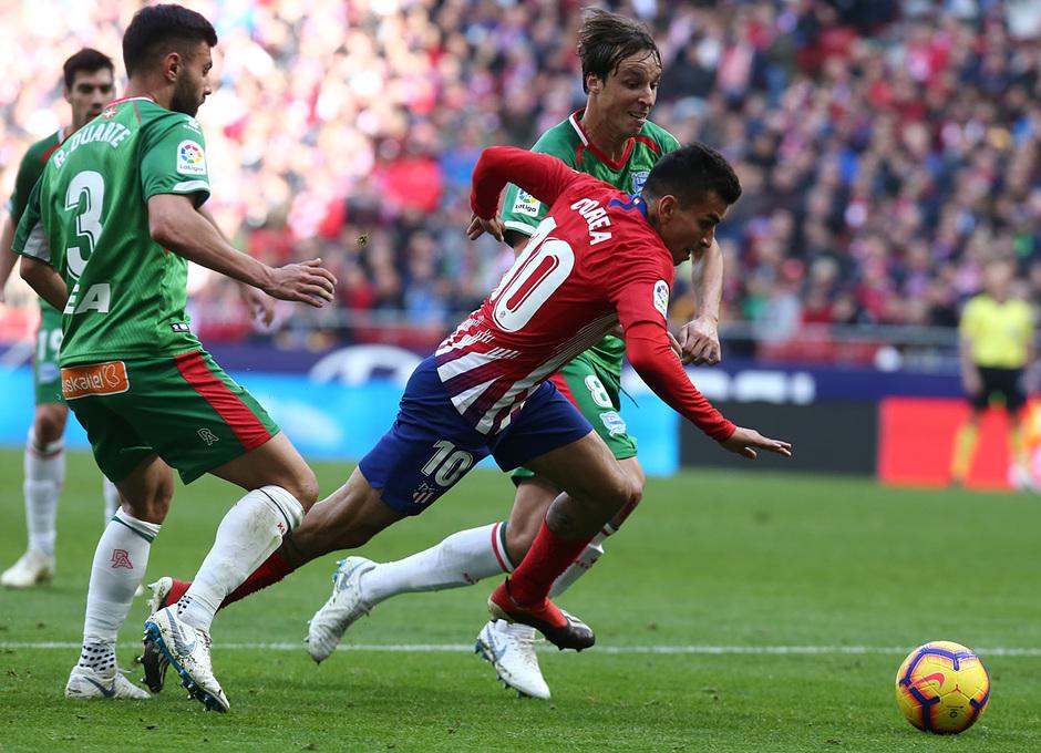 Temporada 2018-2019 | Atlético de Madrid - Alavés | Correa
