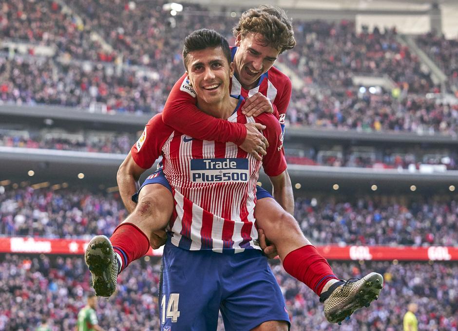 Temporada 2018-2019 | Atlético de Madrid - Alavés | Rodrigo y Griezmann
