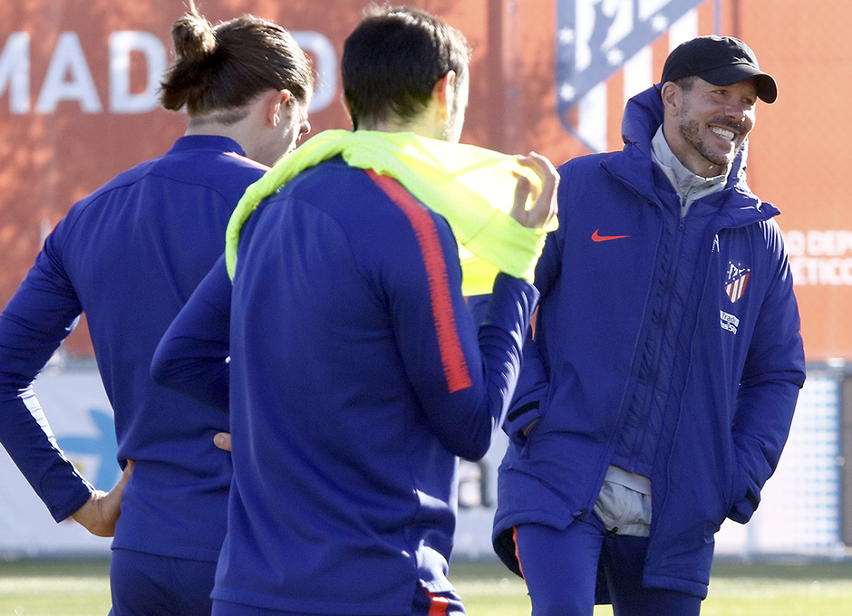 Temp. 18-19 | Entrenamiento en la Ciudad Deportiva Wanda | Simeone
