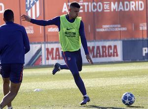 Temp. 18-19 | Entrenamiento en la Ciudad Deportiva Wanda | Montero