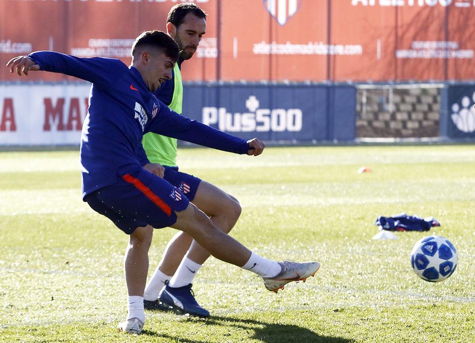 Temp. 18-19 | Entrenamiento en la Ciudad Deportiva Wanda | Joaquín