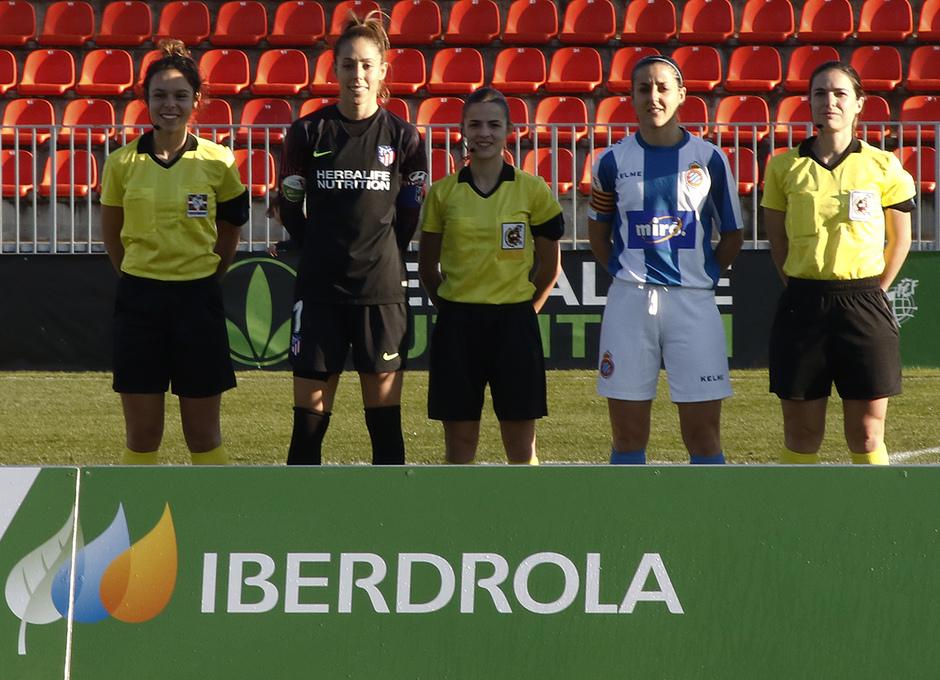 Temporada 18/19 | Atlético de Madrid Femenino - Espanyol | Capitanas