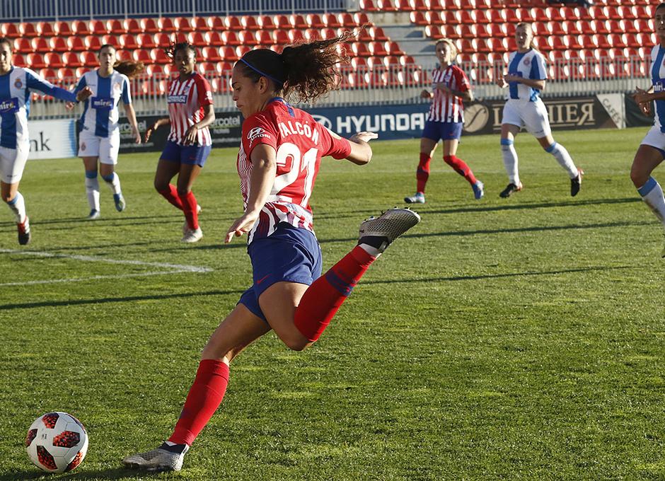 Temporada 18/19 | Atlético de Madrid Femenino - Espanyol | Falcón