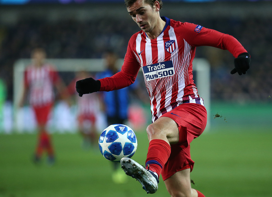 Temporada 18/19 | Brujas - Atlético de Madrid | Griezmann