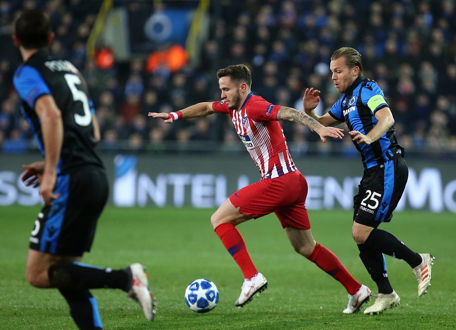 Temporada 18/19 | Brujas - Atlético de Madrid | Saúl