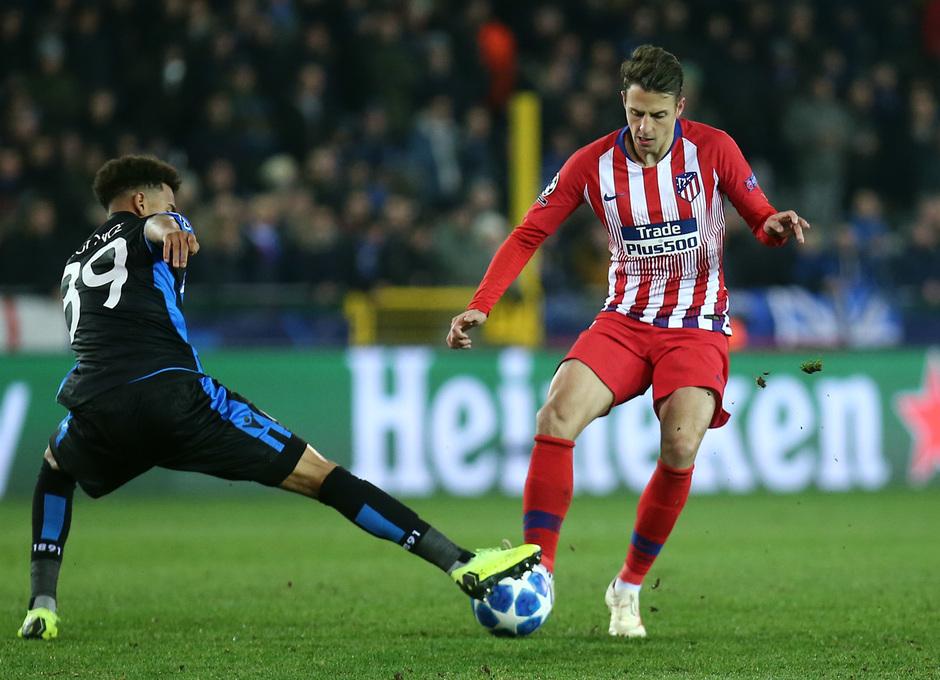Temporada 18/19 | Brujas - Atlético de Madrid | Arias