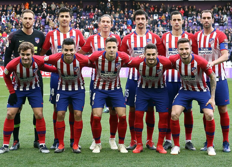 Temporada 18/19 | Valladolid - Atlético de Madrid | Once