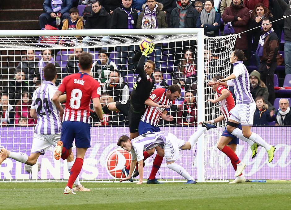 Temporada 18/19 | Valladolid - Atlético de Madrid | Oblak