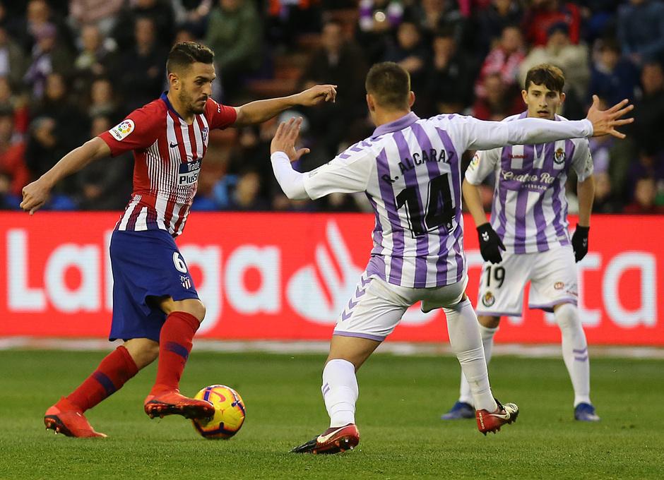 Temporada 18/19 | Valladolid - Atlético de Madrid | Koke