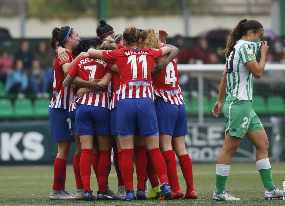 Temp. 18-19 | Betis - Atlético de Madrid Femenino | Piña