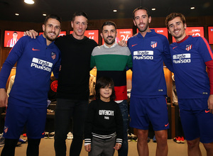 Temp. 18-19 | Visita Torres y Villa al Wanda Metropolitano | Godín, Griezmann y Koke
