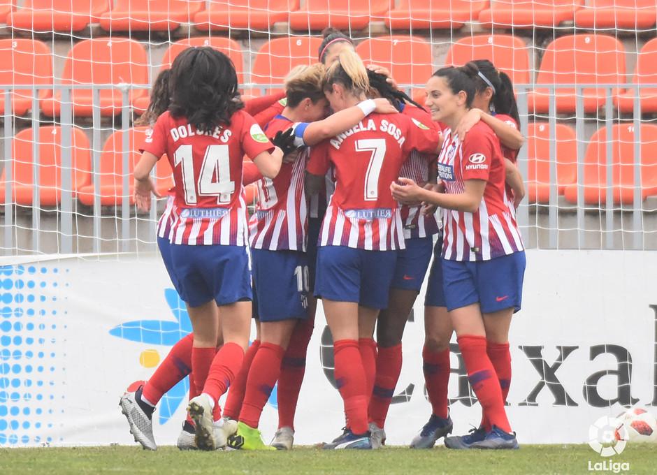 Temp. 18-19 | Atlético de Madrid Femenino - Sporting de Huelva | Celebración