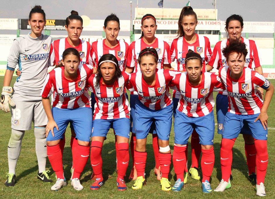 Temporada 2013-2014. Once del Féminas en el primer partido en Pozoblanco