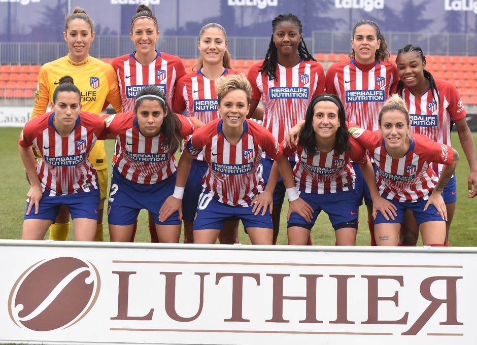 Temp. 18-19   Atlético de Madrid Femenino - Sporting de Huelva   Once
