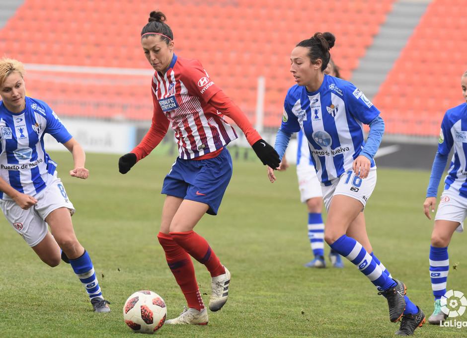 Temp. 18-19   Atlético de Madrid Femenino - Sporting de Huelva   Jenni Hermoso