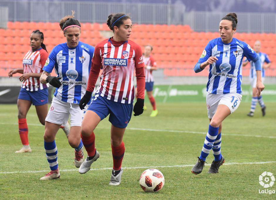 Temp. 18-19   Atlético de Madrid Femenino - Sporting de Huelva   Falcón