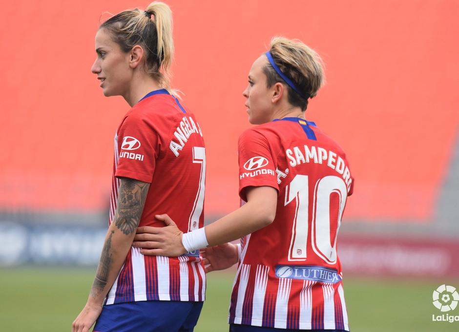 Temp. 18-19   Atlético de Madrid Femenino - Sporting de Huelva   Amanda y Sosa