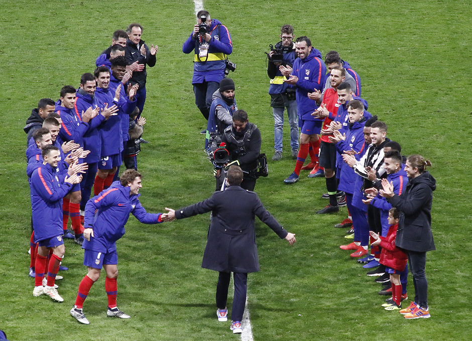 Temp. 18-19 | Atlético de Madrid - Espanyol | Homenaje Gabi