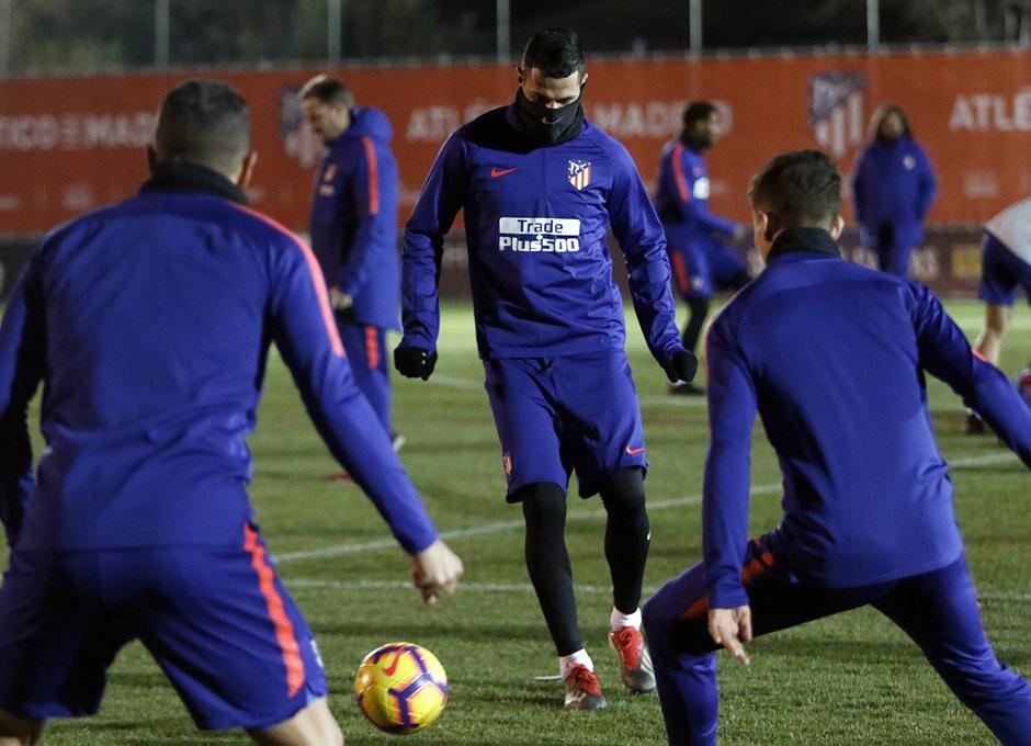 Temporada 18/19 | Entrenamiento primer equipo | 30/12/2018 | Vitolo