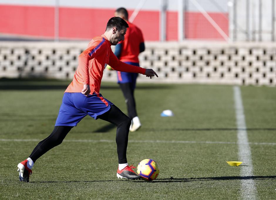 Temp. 18-19 | Entrenamiento Ciudad Deportiva Wanda | Kalinic