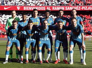 Temporada 2018-2019 | Atlético de Madrid - Sevilla | Once