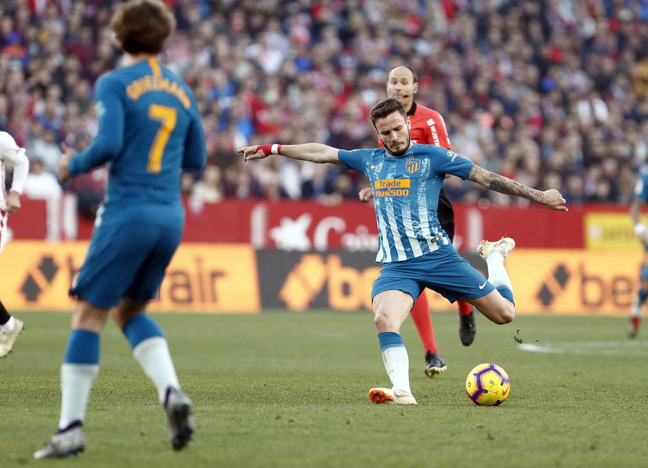Temporada 2018-2019 | Atlético de Madrid - Sevilla | Saúl