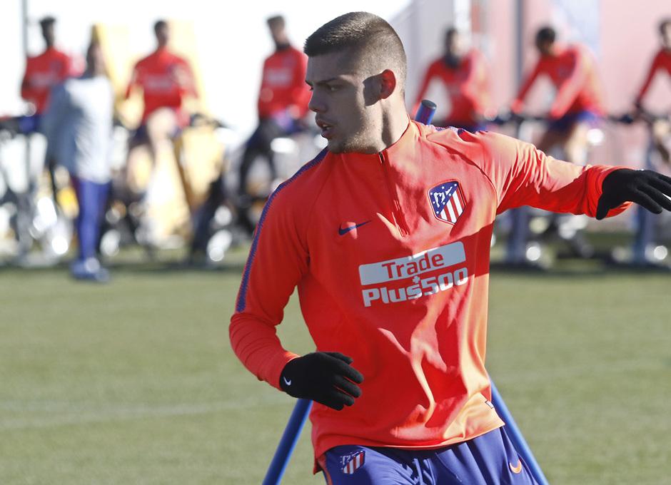 Temp. 18-19 | Entrenamiento Ciudad Deportiva Wanda | Montero