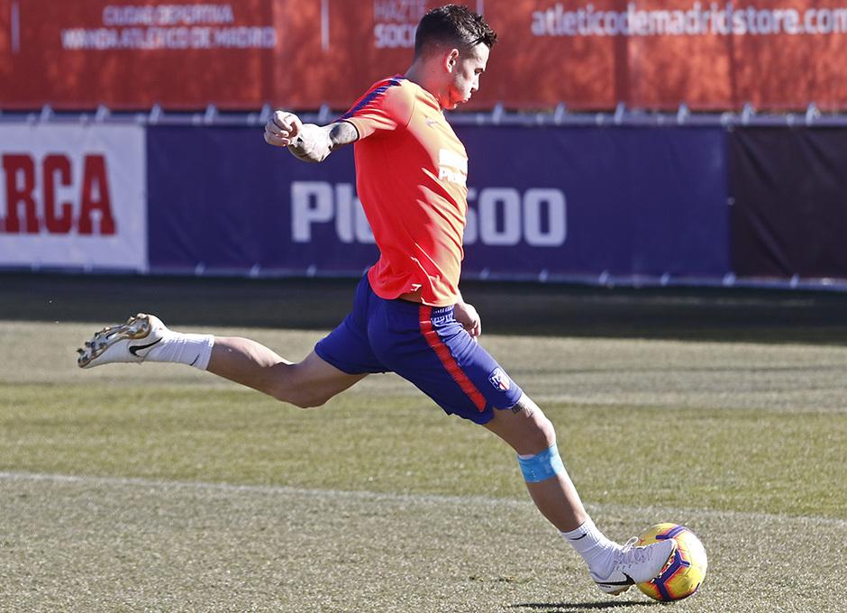 Temp. 18-19 | Entrenamiento Ciudad Deportiva Wanda | Lucas