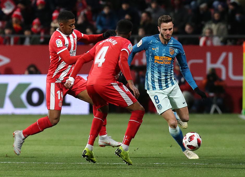 Temp. 18-19 | Girona - Atlético de Madrid | Saúl