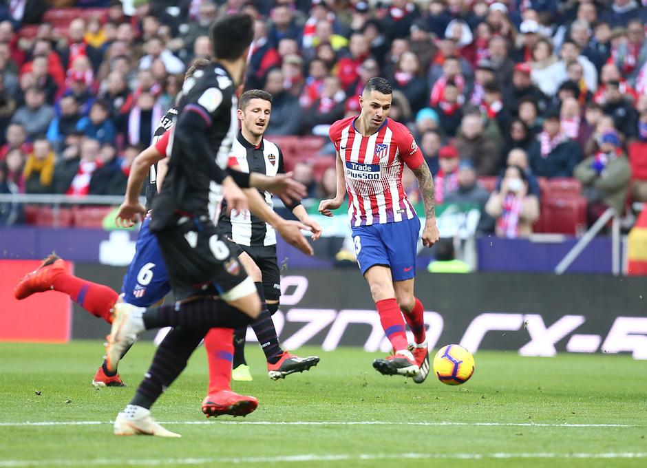 Temp. 18-19 | Atlético de Madrid - Levante| Vitolo