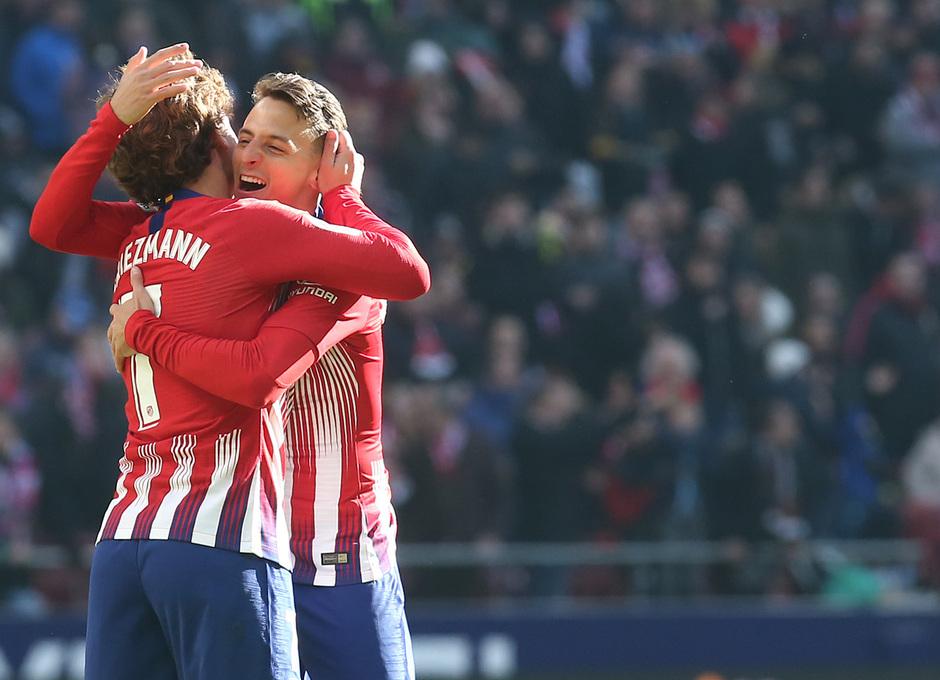 Temp. 18-19 | Atlético de Madrid - Levante | Griezmann y Arias
