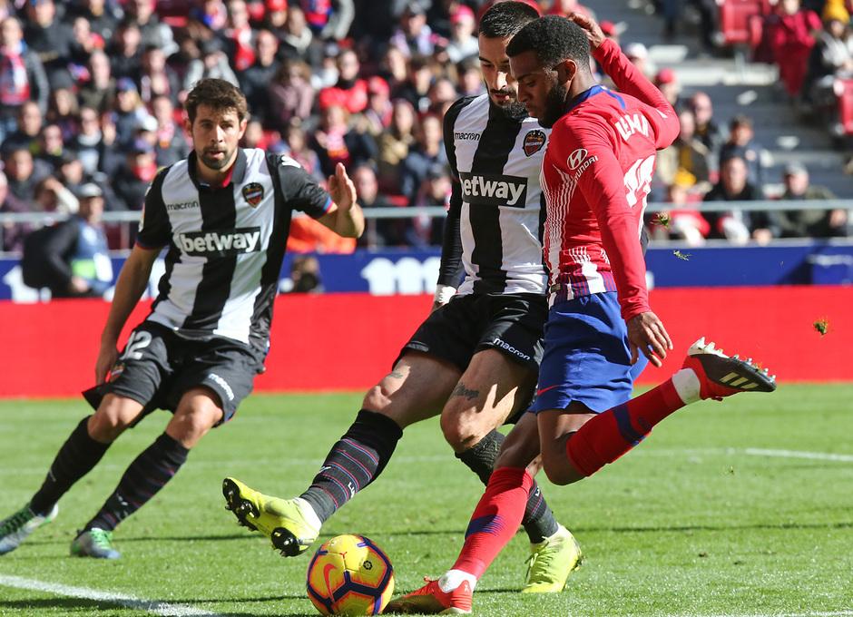 Temp. 18-19 | Atlético de Madrid - Levante | Lemar