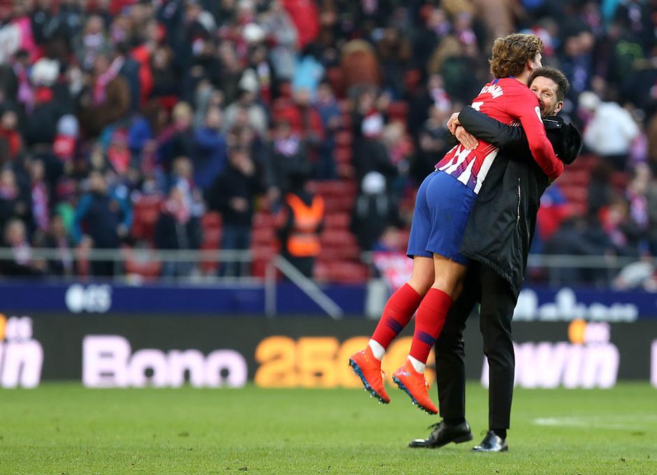 Temp. 18-19 | Atlético de Madrid - Levante | Griezmann y Simeone