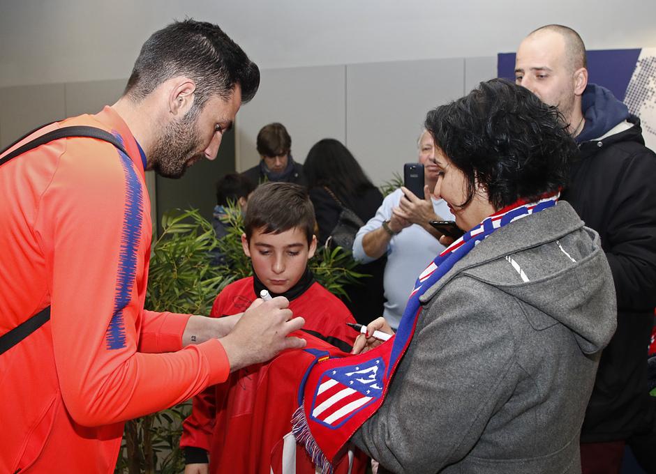 Temp. 18-19 | Atlético de Madrid - Levante | Socia 125.000 y Adán