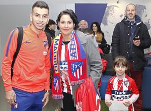 Temp. 18-19 | Atlético de Madrid - Levante | Socia 125.000 y Correa