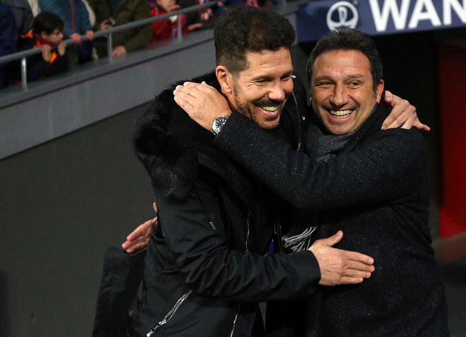 Temporada 18/19 | Atleti - Girona | Copa del Rey | Simeone y Eusebio