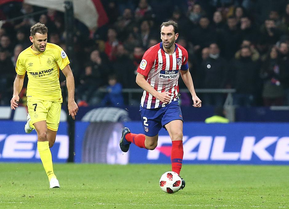 Temporada 18/19 | Atleti - Girona | Copa del Rey | Godín