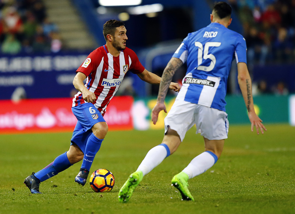Temporada 18/19 | Koke 400 partidos | 300 partidos vs Leganés