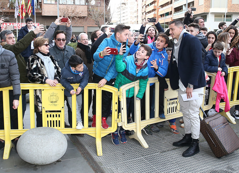 Temporada 18/19 | Llegada a Huesca |
