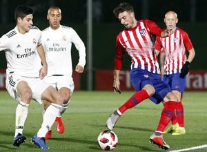 Temp. 18-19 | Real Madrid Castilla - Atlético de Madrid | Cristian Rodríguez