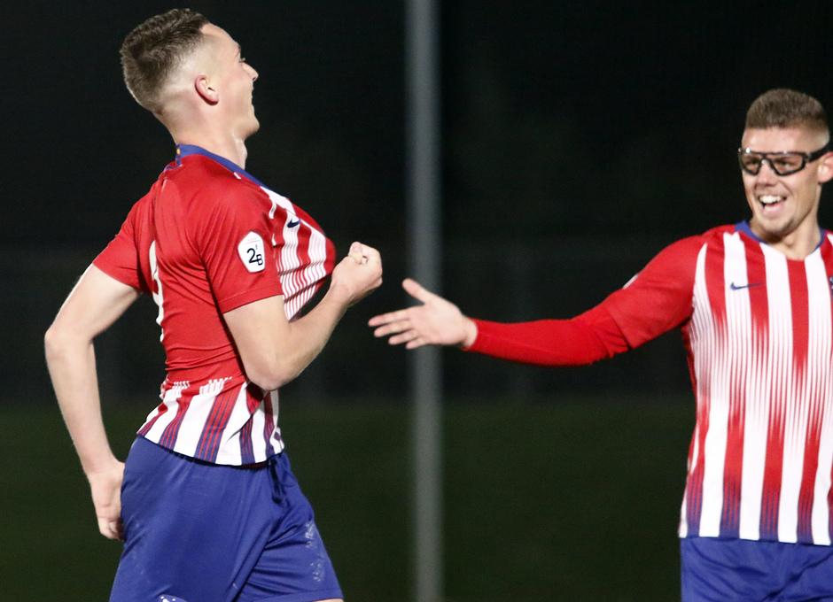 Temp. 18-19 | Real Madrid Castilla - Atlético de Madrid | Borja Garcés y Montero
