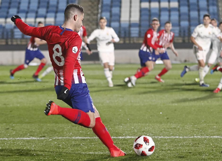 Temp. 18-19 | Real Madrid Castilla - Atlético de Madrid | Toni Moya