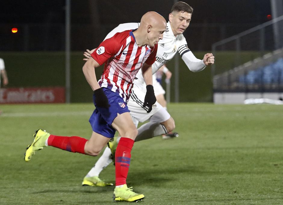 Temp. 18-19 | Real Madrid Castilla - Atlético de Madrid | Mollejo