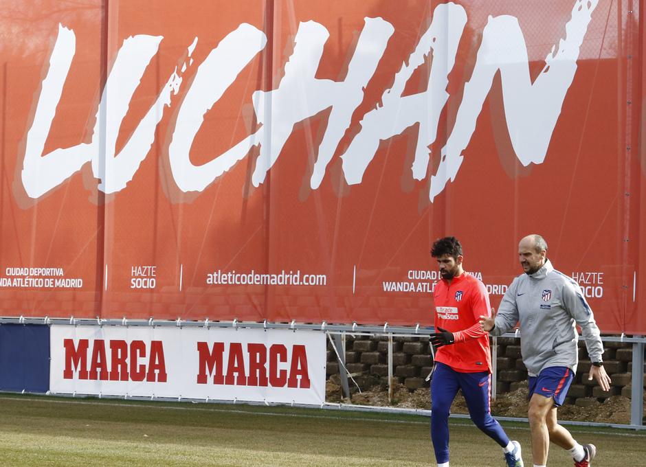 Temp. 18-19 | Entrenamiento primer equipo. Diego Costa