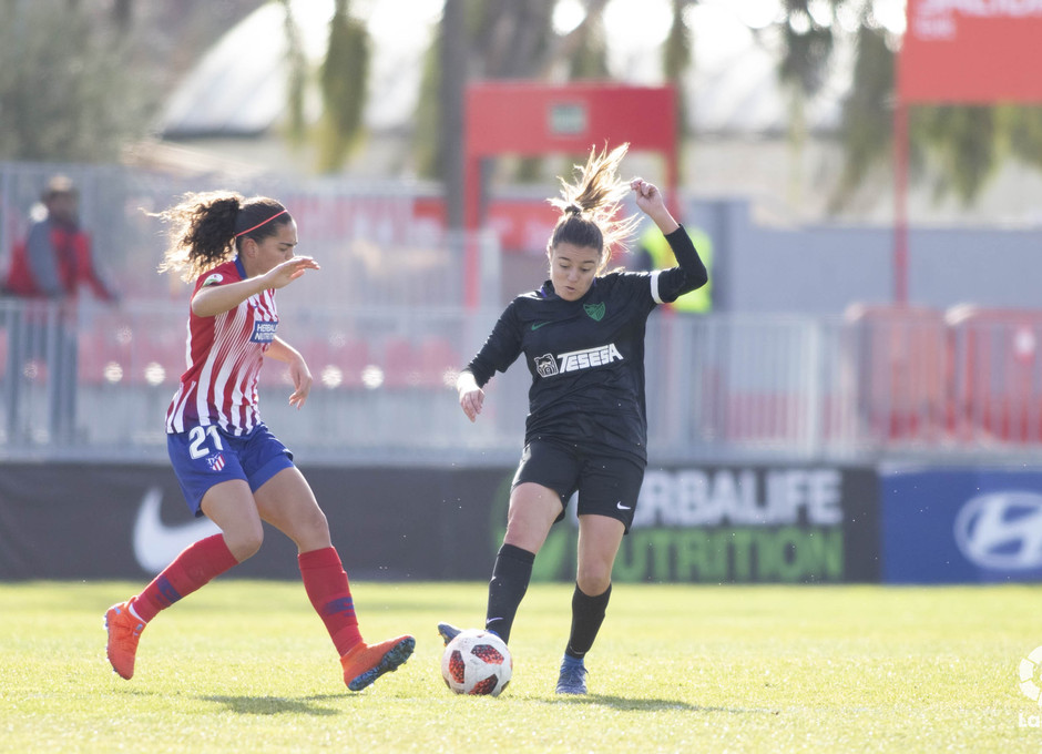 Temporada 18/19   Atlético de Madrid Femenino - Málaga   Falcón