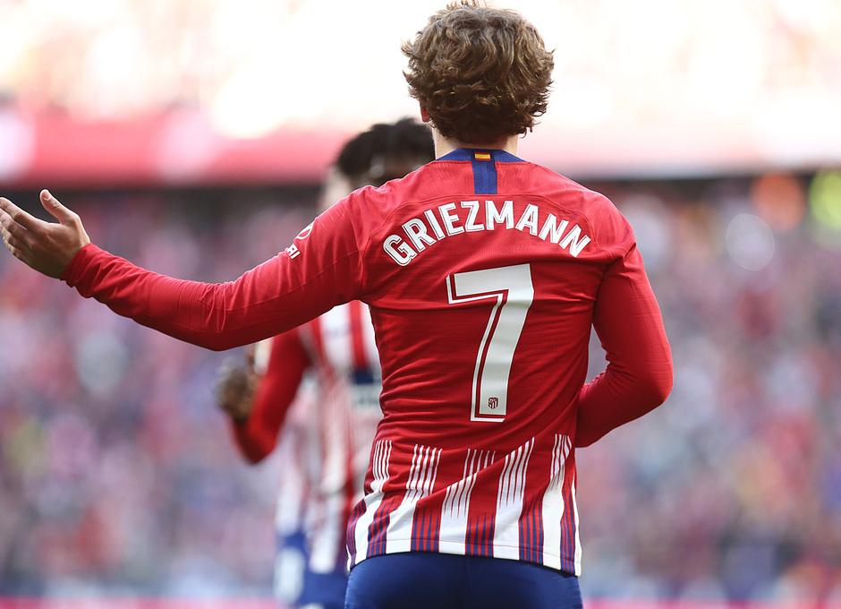 Temporada 18/19   Atlético de Madrid - Getafe   Griezmann celebración