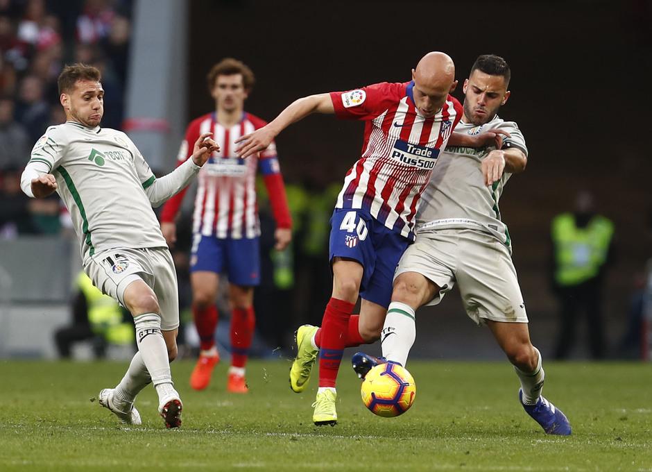 Temporada 18/19   Atlético de Madrid - Getafe   Mollejo