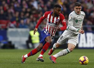 Temporada 18/19   Atlético de Madrid - Getafe   Lemar