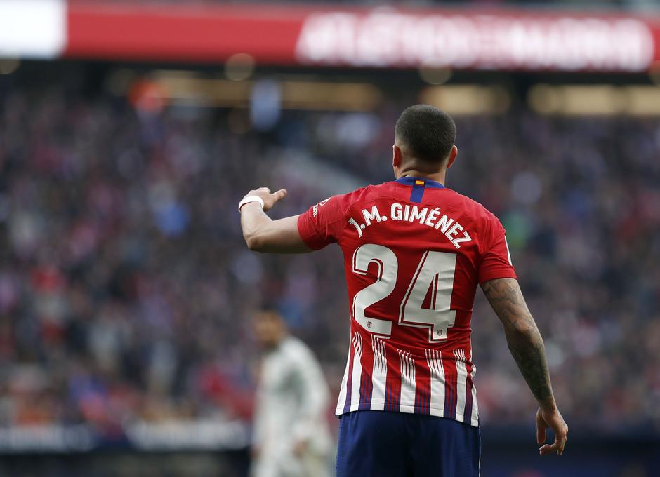 Temporada 18/19   Atlético de Madrid - Getafe   Giménez